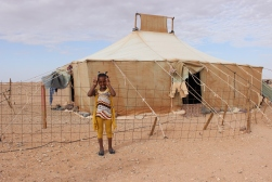 Action 2014 Refugee camp Bojador Western Sahara